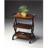 Butler Kimiko Transitional Cherry Side Table, Transitional Cherry