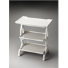 Butler Kimiko Glossy White Side Table, Glossy White