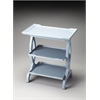 BUTLER Side Table, Glossy Wedgewood