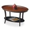 Hamlet Café Noir Oval Cocktail Table, Café Noir