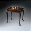 Bannockburn Plantation Cherry Game Table, Plantation Cherry