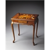 Bannockburn Olive Ash Burl Game Table, Olive Ash Burl