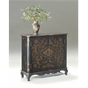 Leyden European Black Painted Console Cabinet, European Black