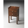 Gabriel Solid Wood Side Table, Artifacts