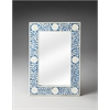 Butler Olivia Blue Bone Inlay Wall Mirror, Heritage