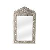 Butler Victoria Black Bone Inlay Wall Mirror, Heritage