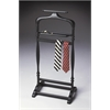 Judson Black Licorice Valet Stand, Black Licorice