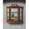 Butler Melinda Vintage Oak Wall Curio, Vintage Oak