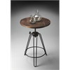 "Accent Table, Metalworks, 22""Diam."