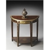 Butler Demilune Console Table, Artifacts