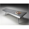 Butler Midway Aviator Cocktail Table, Metalworks
