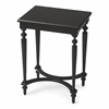 Tyler Black Licorice Accent Table, Black Licorice