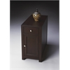 Benson Merlot Chairside Table, Merlot
