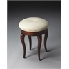 Simone Plantation Cherry Vanity Stool, Plantation Cherry