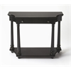 Butler Hobson Black Licorice Console Table, Black Licorice