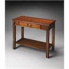 BUTLER Console Table, Olive Ash Burl