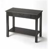 Sheridan Black Licorice Console Table, Black Licorice