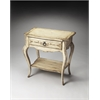BUTLER Console Table, Gilted Cream