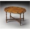 BUTLER Butler Table, Olive Ash Burl