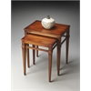 Butler Nolan Antique Cherry Nest Of Tables, Antique Cherry