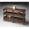 BUTLER Sofa/Console Table, Tobacco Leaf