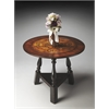 BUTLER Foyer Table, Black & Tan