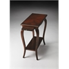 Butler Sabrina Plantation Cherry Chairside Table, Plantation Cherry