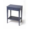 Cobble Hill Navy Blue Console Table, Blue