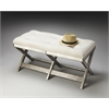Butler Marlo Mirrored Bench, Mirror