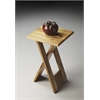 Hammond Natural Wood Folding Table, Loft