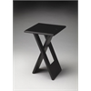 Hammond Black Folding Table, Black