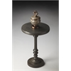 Butler Tanya Metal Pedestal Accent Table, Metalworks