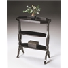 BUTLER Accent Table, Plum Black