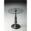 "Butler Accent Table, Modern Expressions, 19""Diam."