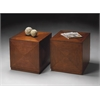 Summerlin Chestnut Burl Bunching Cube, Chestnut Burl