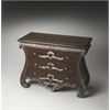 Dante Carved Wood Console Chest, Connoisseur's