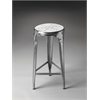 Essex Backless Bar Stool, Metalworks