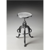 Parnell Adjustable Swivel Iron Bar Stool, Metalworks