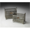 Rowley Iron Storage Basket Set, Hors D'oeuvres