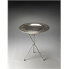 Dahlia Folding Metal Accent Table, Metalworks