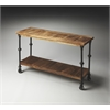 Butler Fontainebleau Industrial Chic Console Table, Butler Loft