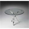 Butler Blissful Modern Accent Table, Metalworks