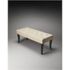 Butler Taylor Modern Bench, Black Licorice