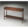 BUTLER Console Table, Antique Cherry