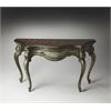 Collette Mahogany Console Table, Heritage