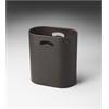 BUTLER Storage Basket, Brown Leather