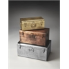 Butler Spirit Iron Storage Trunk Set, Hors D'oeuvres