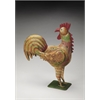 Majestic Iron Rooster Figurine, Hors D'oeuvres