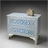 Vivienne Blue Bone Inlay Chest, Heritage