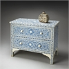 Vivienne Blue Bone Inlay Chest, Heritage